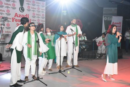 Azadi Festival 2018, 14th August Celebrations At Arts Council Of Pakistan Karachi (40)
