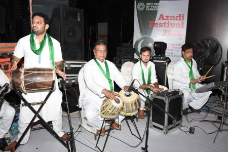 Azadi Festival 2018, 14th August Celebrations At Arts Council Of Pakistan Karachi (49)