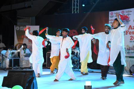 Azadi Festival 2018, 14th August Celebrations At Arts Council Of Pakistan Karachi (55)