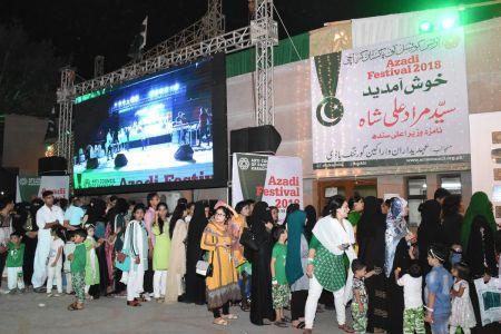 Azadi Festival 2018, 71st Independence Day Of Pakistan Celebration At Arts Council Of Pakistan Karachi (11)