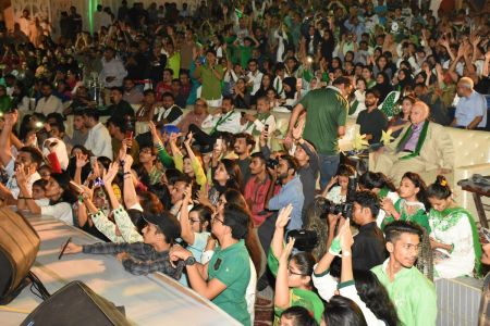 Azadi Festival 2018, 71st Independence Day Of Pakistan Celebration At Arts Council Of Pakistan Karachi (37)