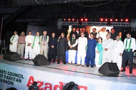 Azadi Festival 2018, 71st Independence Day Of Pakistan Celebration At Arts Council Of Pakistan Karachi (55)