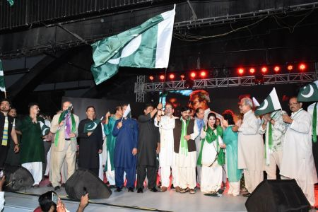 Azadi Festival 2018, 71st Independence Day Of Pakistan Celebration At Arts Council Of Pakistan Karachi (60)