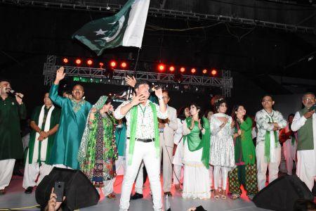Azadi Festival 2018, 71st Independence Day Of Pakistan Celebration At Arts Council Of Pakistan Karachi (63)