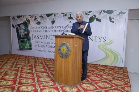 Book \'Jasmine And Journeys\' By Najma Shamsi At Arts Council Karachi (12)