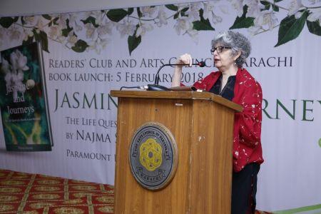 Book \'Jasmine And Journeys\' By Najma Shamsi At Arts Council Karachi (15)