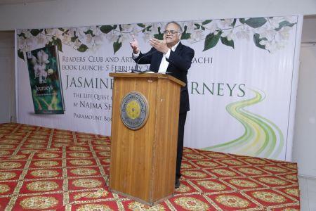 Book \'Jasmine And Journeys\' By Najma Shamsi At Arts Council Karachi (2)