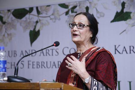 Book \'Jasmine And Journeys\' By Najma Shamsi At Arts Council Karachi (4)