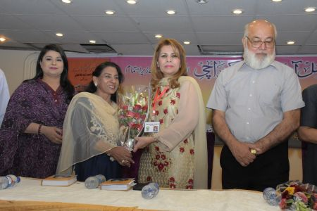 Book Launch Of Sher O Sukhan Humarey By Sabiha Khan (4)
