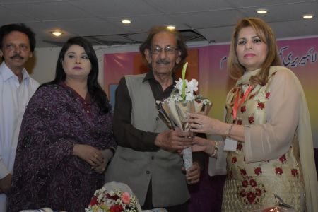Book Launch Of Sher O Sukhan Humarey By Sabiha Khan (6)