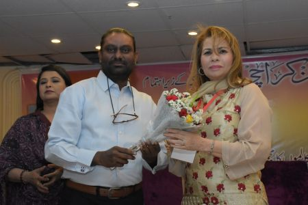 Book Launch Of Sher O Sukhan Humarey By Sabiha Khan (8)