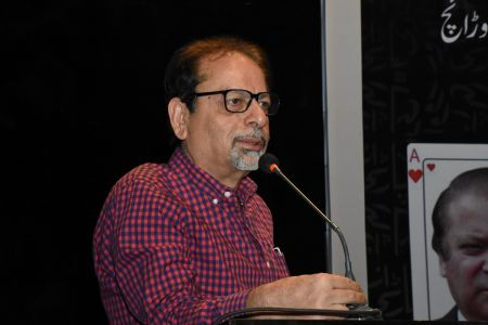 Book Launch Of \'The Party Is Over\' By Suhail Warraich At Arts Council Of Pakistan Karachi (18)