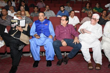 Book Launch Of \'The Party Is Over\' By Suhail Warraich At Arts Council Of Pakistan Karachi (2)