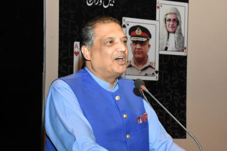 Book Launch Of \'The Party Is Over\' By Suhail Warraich At Arts Council Of Pakistan Karachi (33)