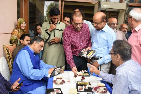 Book Launch Of \'The Party Is Over\' By Suhail Warraich At Arts Council Of Pakistan Karachi (38)