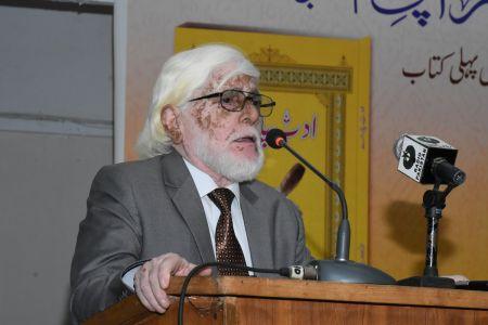 Book Launching Ceremony Of \'Adab Parey\' At Arts Council Karachi (13)