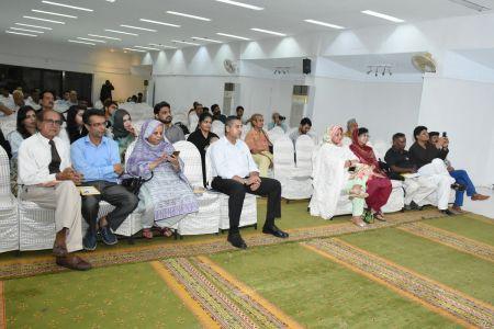 Book Launching Ceremony Of \'Adab Parey\' At Arts Council Karachi (7)