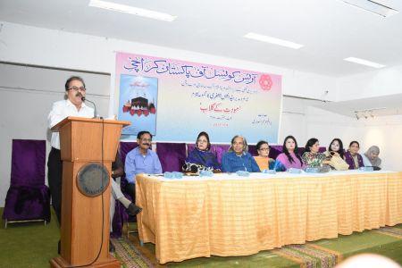 Book Launching Of Moddat Ke Gulab By Anees Jaffery At Art Council Of Pakistan Karachi (19)