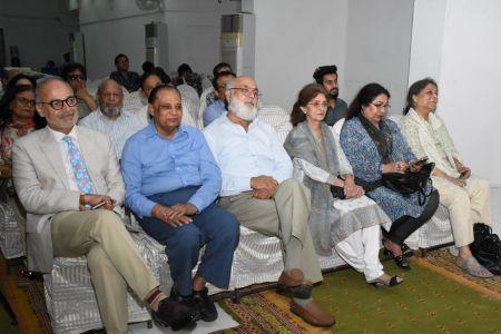 Book Launching Of \'Zard Paton Ka Ban\' Kluliyat By Ishrat Afreen At Arts Council Of Pakistan Karachi (20)