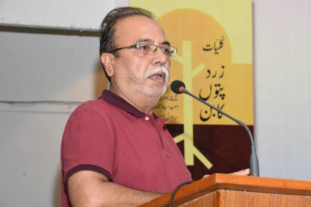 Book Launching Of \'Zard Paton Ka Ban\' Kluliyat By Ishrat Afreen At Arts Council Of Pakistan Karachi (28)