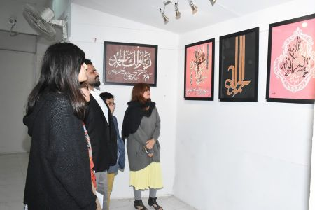 Calligraphy In Paper Carving By Yousuf Ali (14)