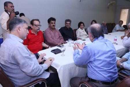 Commissionar Karachi Visited Arts Council (12)