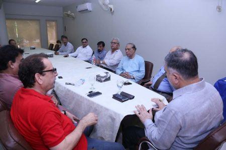 Commissionar Karachi Visited Arts Council (13)