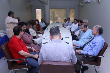 Commissionar Karachi Visited Arts Council (14)