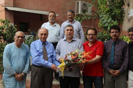 Commissionar Karachi Visited Arts Council (17)