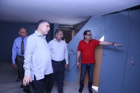 Commissionar Karachi Visited Arts Council (1)