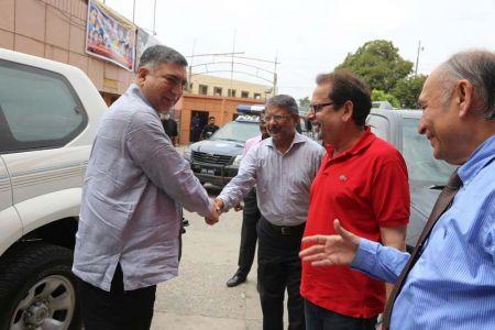 Commissionar Karachi Visited Arts Council (22)