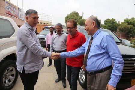 Commissionar Karachi Visited Arts Council (23)
