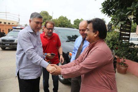Commissionar Karachi Visited Arts Council (24)