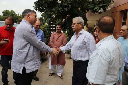 Commissionar Karachi Visited Arts Council (26)