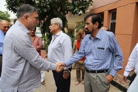 Commissionar Karachi Visited Arts Council (27)