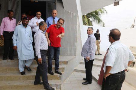 Commissionar Karachi Visited Arts Council (3)