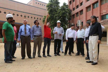 Commissionar Karachi Visited Arts Council (40)
