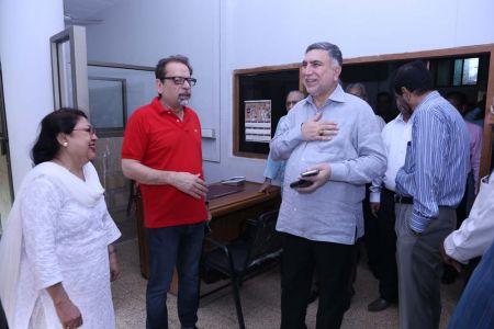 Commissionar Karachi Visited Arts Council (43)