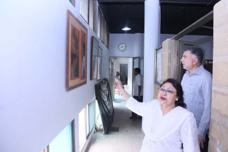 Commissionar Karachi Visited Arts Council (45)