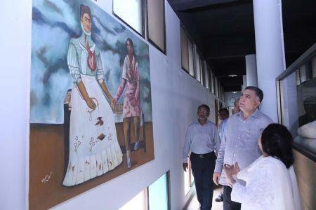 Commissionar Karachi Visited Arts Council (50)