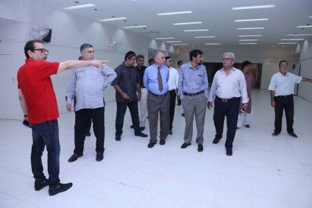 Commissionar Karachi Visited Arts Council (57)