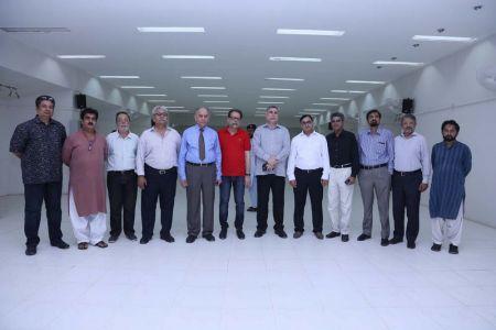 Commissionar Karachi Visited Arts Council (58)