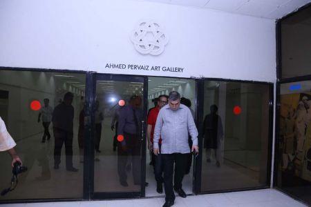 Commissionar Karachi Visited Arts Council (59)