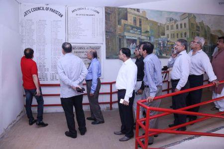 Commissionar Karachi Visited Arts Council (61)