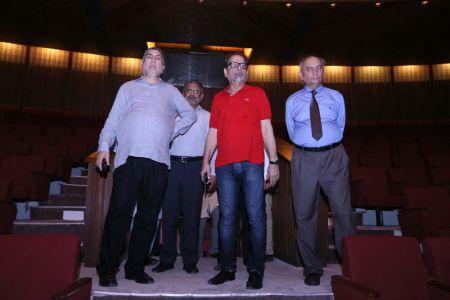 Commissionar Karachi Visited Arts Council (7)
