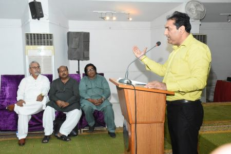 Condolence Gathering Of Prominent Singer Taaj Multani At Arts Council Of Pakistan Karachi (15)