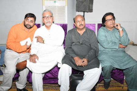 Condolence Gathering Of Prominent Singer Taaj Multani At Arts Council Of Pakistan Karachi (16)