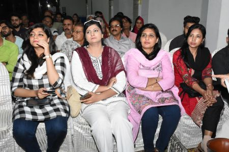 Condolence Gathering Of Prominent Singer Taaj Multani At Arts Council Of Pakistan Karachi (17)