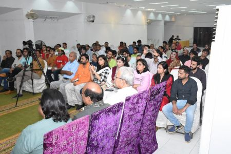 Condolence Gathering Of Prominent Singer Taaj Multani At Arts Council Of Pakistan Karachi (18)