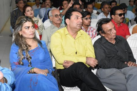 Condolence Gathering Of Prominent Singer Taaj Multani At Arts Council Of Pakistan Karachi (29)
